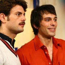 Fabio Ghidoni e Fabrizio Nevola in una scena della fiction Capri 3