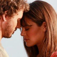 Gabriele Greco e Bianca Guaccero in una scena della fiction Capri 3