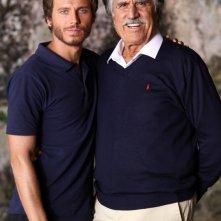 Gabriele Greco e Lando Buzzanca, protagonisti della fiction Capri 3