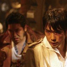 Hidetoshi Nishijima in una scena di Kanikôsen