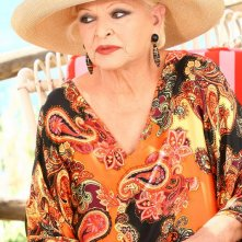 Lucia Bosè in una scena della fiction Capri 3
