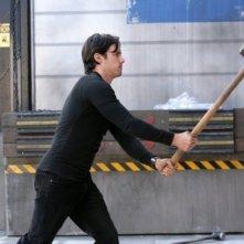 Milo Ventimiglia in una scena di The Wall, dalla quarta stagione di Heroes