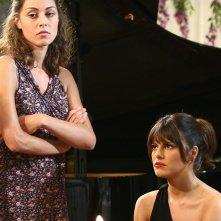 Miriam Candurro e Bianca Guaccero in una scena della fiction Capri 3