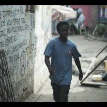 Philip Buy in una scena del film Imani