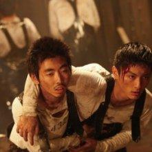 Una scena del film Kanikôsen