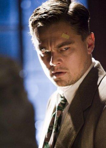 Leonardo DiCaprio in un'immagine del film Shutter Island