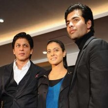 Berlinale 2010: Shahrukh Khan, Kajol e Karan Johar presentano My Name is Khan