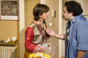 Laura Morante e Nicola Nocella in una scena del film Il figlio più piccolo