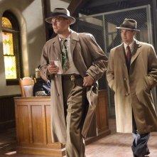 Leonardo DiCaprio e Mark Ruffalo in una sequenza di Shutter Island