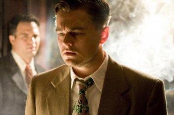 Leonardo DiCaprio in un'immagine di Shutter Island