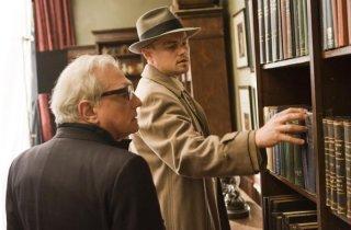 Martin Scorsese e Leonardo DiCaprio sul set di Shutter Island