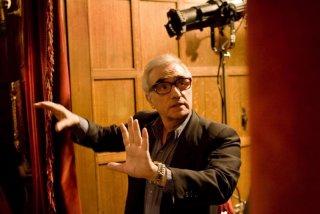 Martin Scorsese sul set di Shutter Island