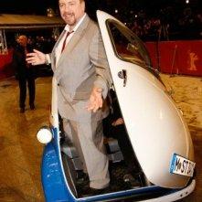 Berlinale 2010: Armin Rohde a bordo di una curiosa BMW Isetta