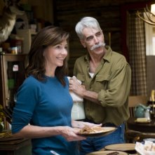 Sam Elliott e Mary Steenburgen in una scena del film Che fine hanno fatto i Morgan?