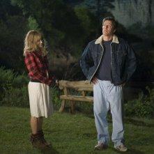 Sarah Jessica Parker e Hugh Grant in una sequenza del film Che fine hanno fatto i Morgan?
