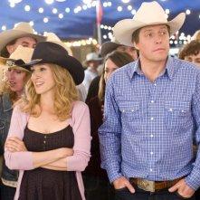 Sarah Jessica Parker e Hugh Grant interpreti della coppia che scoppia nella commedia Che fine hanno fatto i Morgan?
