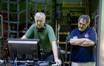 James Cameron e Jon Landau durante la creazione del film Avatar