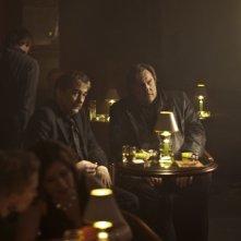 Olivier Marchal e Gerard Depardieu in una scena del film Diamond 13