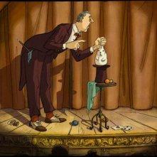 Una scena del film The Illusionist