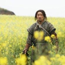 Jackie Chan in Da bing xiao jiang (Little Big Soldier)
