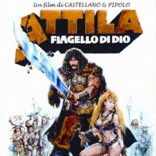 locandina italiana di Attila Flagello di Dio