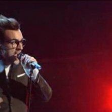 Sanremo 2010, seconda serata: l'esibizione di Marco Mengoni