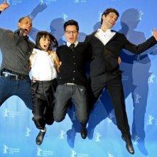 Berlinale 2010: Burhan Qurbani e il cast di Shahada.