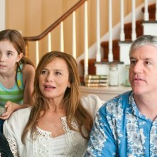 Ruby Jerins, Lena Olin e Gregory Jbara in un momento del film Remember Me