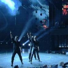 I ballerini di This is It si esibiscono a Sanremo 2010