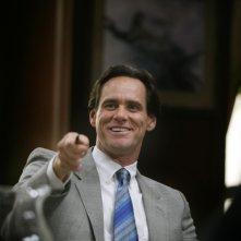 Jim Carrey è un sorridente business man nel film I Love You Phillip Morris