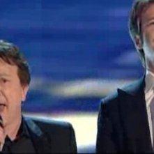 Sanremo 2010, serata finale: Emanuele Filiberto di Savoia e Pupo sono in finale