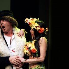 Fulvia Lorenzetti e Tullio Solenghi a teatro con Italiani si nasce
