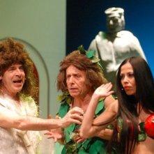 Fulvia Lorenzetti, Tullio Solenghi e Maurizio Micheli a teatro con la piece Italiani si nasce
