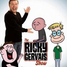La locandina di The Ricky Gervais Show