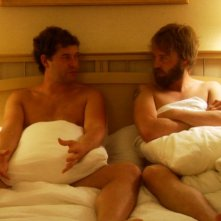 Mark Duplass e Joshua Leonard in un'immagine tratta dal film Humpday