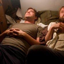Mark Duplass e Joshua Leonard in una scena del film Humpday
