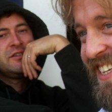 Mark Duplass e Joshua Leonard sul set del film Humpday