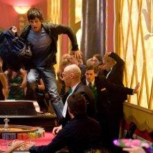 Una sequenza del film Percy Jackson e gli dei dell'Olimpo: Il ladro di fulmini al Lotus Hotel e Casino con Logan Lerman