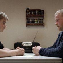 Mads Sjøgård Pettersen e Anders Baasmo Christiansen in una sequenza di Nord (2008)