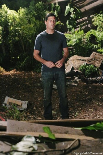 Matthew Fox nell'episodio Lighthouse di Lost