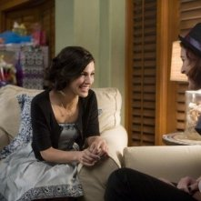 90210: Jessica Lowndes e Rumer Willis nell'episodio Rats and Heroes