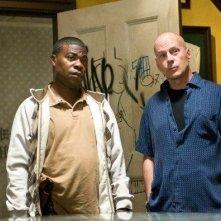 Bruce Willis e Tracy Morgan, veterani del dipartimento di polizia di New York in Cop Out