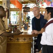 Bruce Willis,Tracy Morgan e Mark Consuelos in una scena di Cop Out
