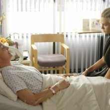 Jennie Garth ed  Ann Gillespie nell'episodio To Thine Own Self Be True di 90210