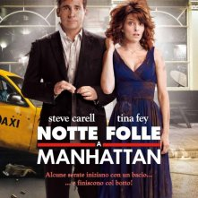 La locandina italiana di Notte folle a Manhattan