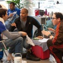 Life UneXpected: Austin Basis, Kristoffer Polaha e Reggie Austin in una scena dell'episodio Crisis Unaverted