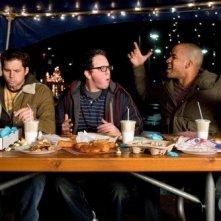 Life UneXpected: Austin Basis, Kristoffer Polaha e Reggie Austin in una scena dell'episodio Turtle Undefeated