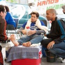 Life UneXpected: Austin Basis, Kristoffer Polaha e Reggie Austin nell'episodio Crisis Unaverted
