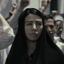 Pegah Ferydoni in una scena del film Donne senza uomini