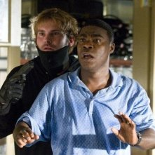 Tracy Morgan e Seann William Scott in una divertente scena di Cop Out
